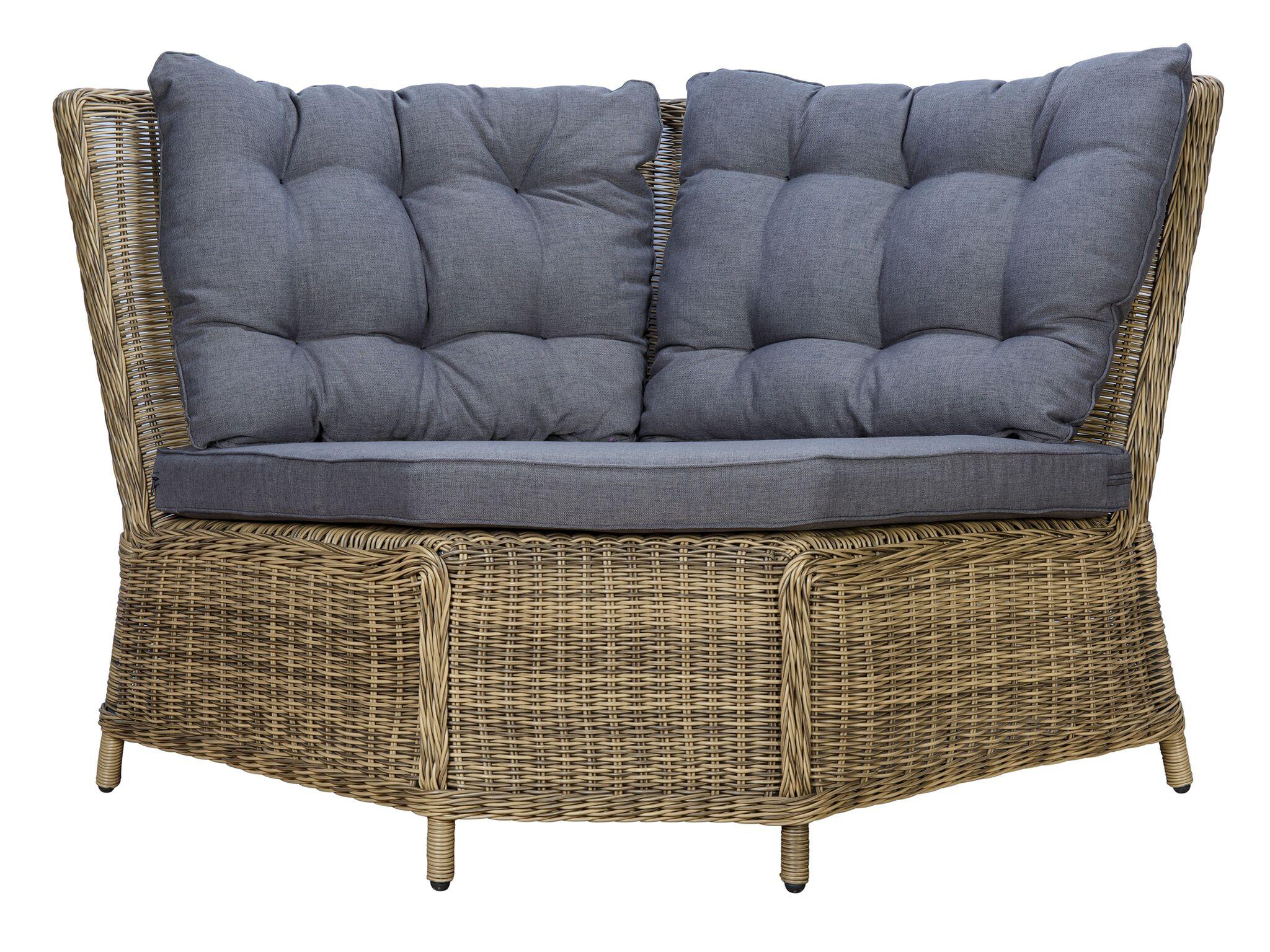 Круглый диванный модуль