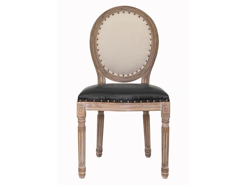 Стул VolkerОбеденные стулья<br>&amp;lt;div&amp;gt;Cтул Volker с округлой спинкой напоминающей медальон, выполнен в элегантном классическом французском стиле. Основание модели выполнено из цельной породы древесины - массива каучукового дерева, искусственно состаренного. Такой стул эффектно смотрится как в контрастной, так и в однотонной обстановке.&amp;amp;nbsp;&amp;lt;/div&amp;gt;&amp;lt;div&amp;gt;&amp;lt;br&amp;gt;&amp;lt;/div&amp;gt;&amp;lt;div&amp;gt;Материал Эко-кожа, Лен, Каучуковое дерево&amp;amp;nbsp;&amp;lt;/div&amp;gt;&amp;lt;div&amp;gt;Цвет Черный, бежевый&amp;lt;/div&amp;gt;&amp;lt;div&amp;gt;&amp;lt;br&amp;gt;&amp;lt;/div&amp;gt;<br><br>Material: Лен<br>Ширина см: 50<br>Высота см: 100<br>Глубина см: 54