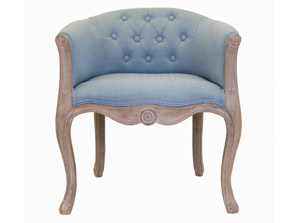 Кресло KandyИнтерьерные кресла<br>Роскошные классические формы кресла Kandy как нельзя лучше передают настроения французского стиля прованс. Кресло с основанием из натурального дерева, искусственно состаренного,для придания эффекта винтажности, спинка выполнена в технике каретная стяжка.Такое очаровательное кресло отлично уживется в интерьере классического современного стиля гостиннй или спальне.<br><br>Material: Текстиль<br>Ширина см: 62<br>Высота см: 71<br>Глубина см: 62
