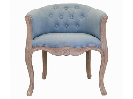 Кресло kandy (mak-interior) голубой 62x71x62 см.