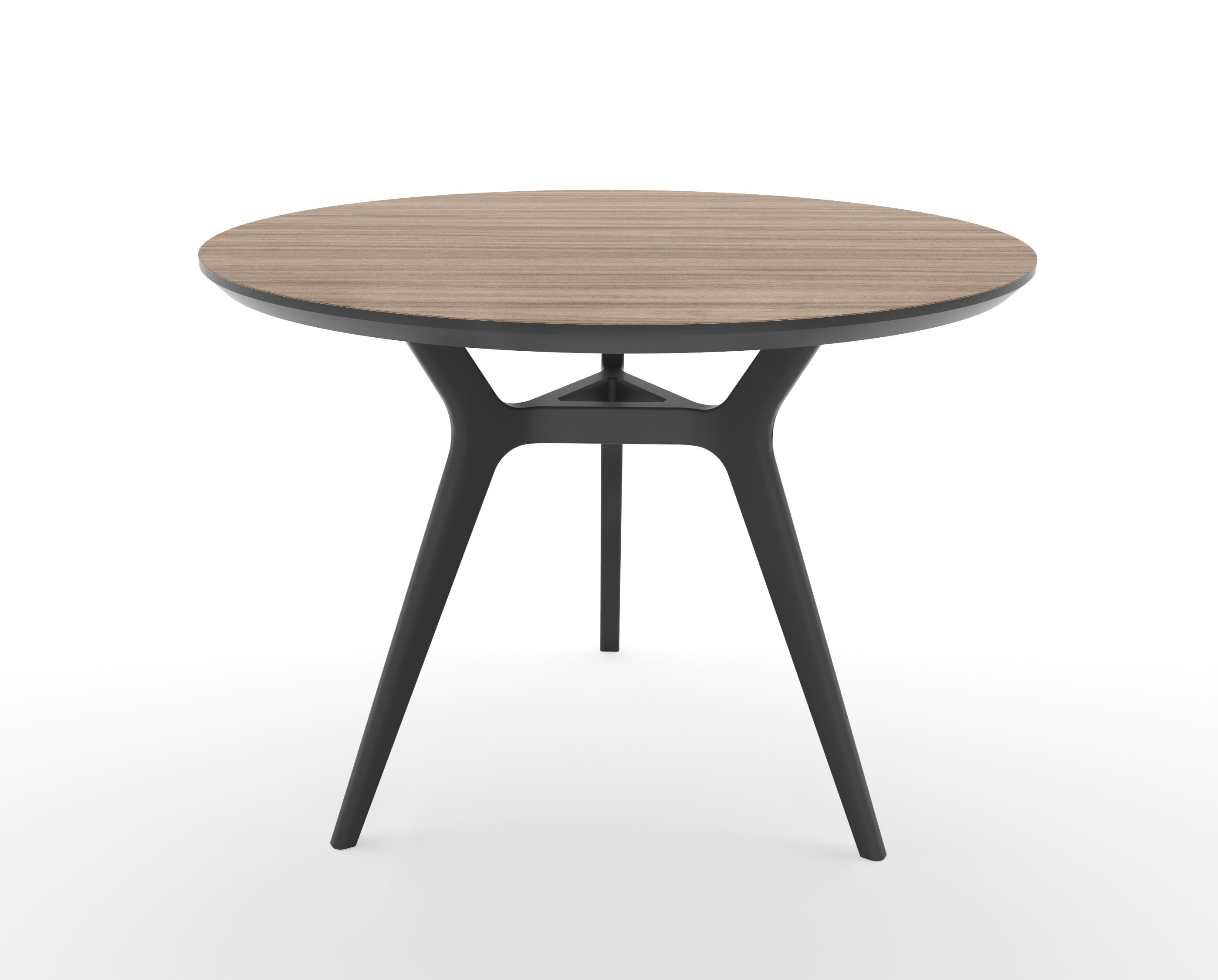 Стол GlatОбеденные столы<br>Тщательная проработка деталей и пропорций стола позволяет ему идеально вписаться в любой интерьер.&amp;lt;div&amp;gt;&amp;lt;br&amp;gt;&amp;lt;/div&amp;gt;&amp;lt;div&amp;gt;Отделка столешницы шпоном ореха, подстолье выкрашено в  цвет графит. Сборка не требуется.   &amp;lt;/div&amp;gt;<br><br>Material: МДФ<br>Высота см: 75.0