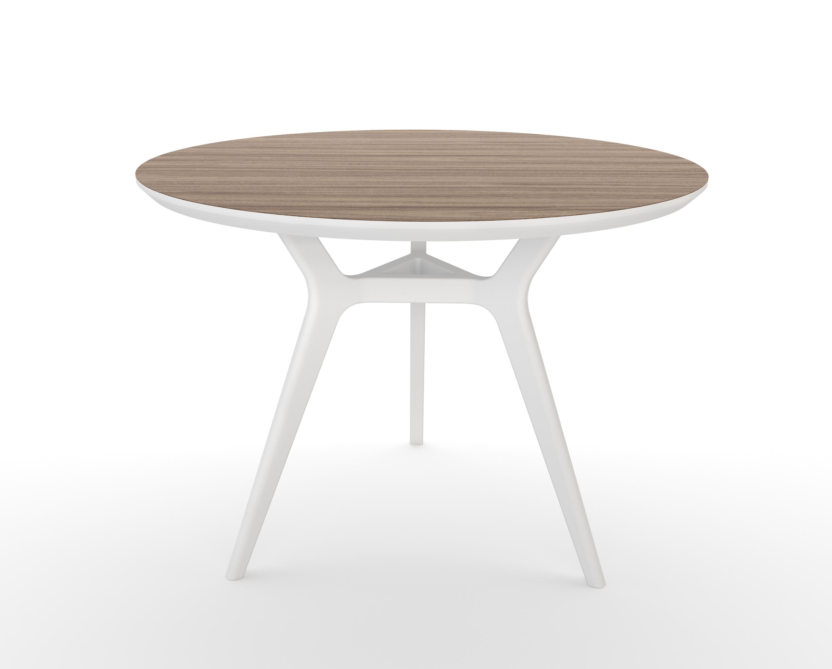 Стол GlatОбеденные столы<br>Тщательная проработка деталей и пропорций стола позволяет ему идеально вписаться в любой интерьер.&amp;amp;nbsp;&amp;lt;div&amp;gt;&amp;lt;br&amp;gt;&amp;lt;/div&amp;gt;&amp;lt;div&amp;gt;Отделка столешницы шпоном ореха, подстолье выкрашено в белый цвет. Сборка не требуется.&amp;lt;/div&amp;gt;<br><br>Material: МДФ<br>Высота см: 75.0