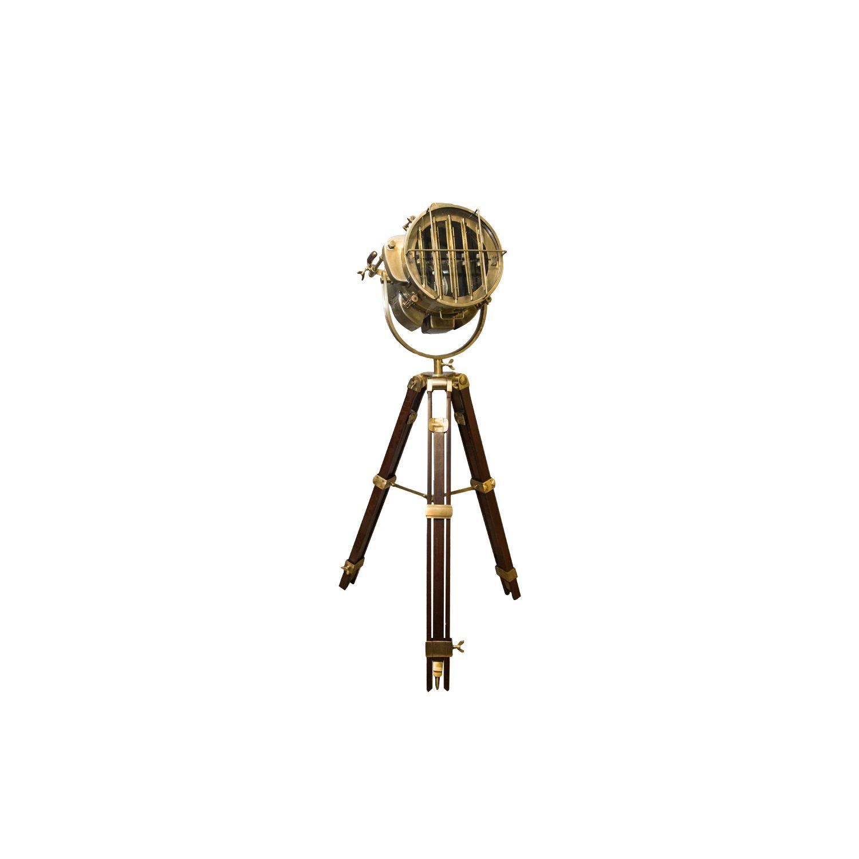 Светильник напольный АнтикПрожекторы<br><br><br>Material: Металл<br>Height см: 177<br>Diameter см: 48