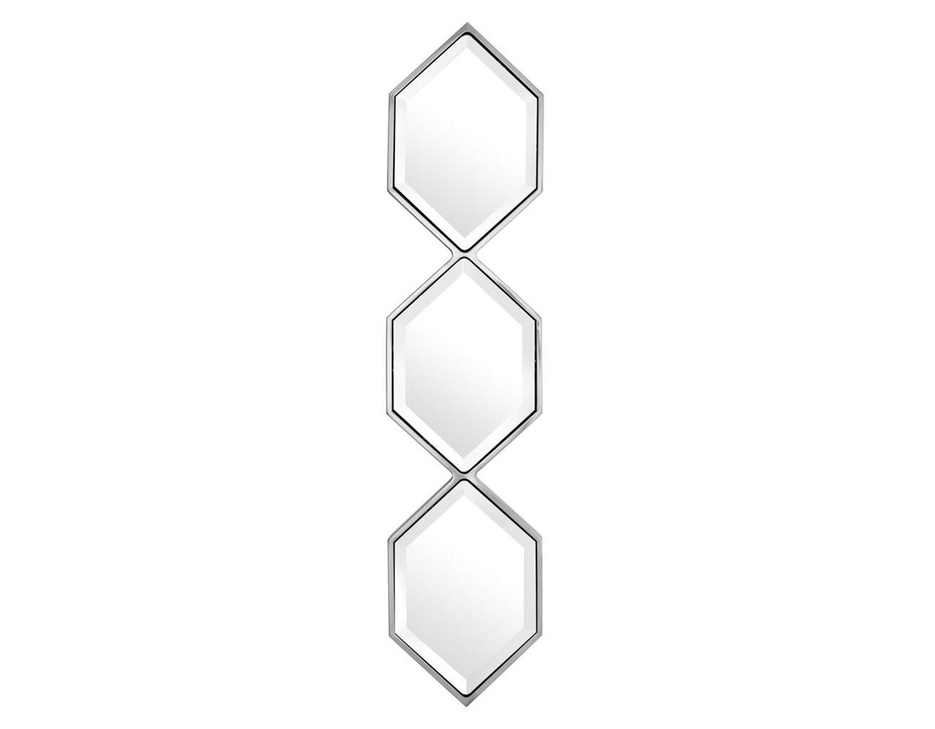 Зеркало SaronnoНастенные зеркала<br><br><br>Material: Металл<br>Width см: 25<br>Height см: 110