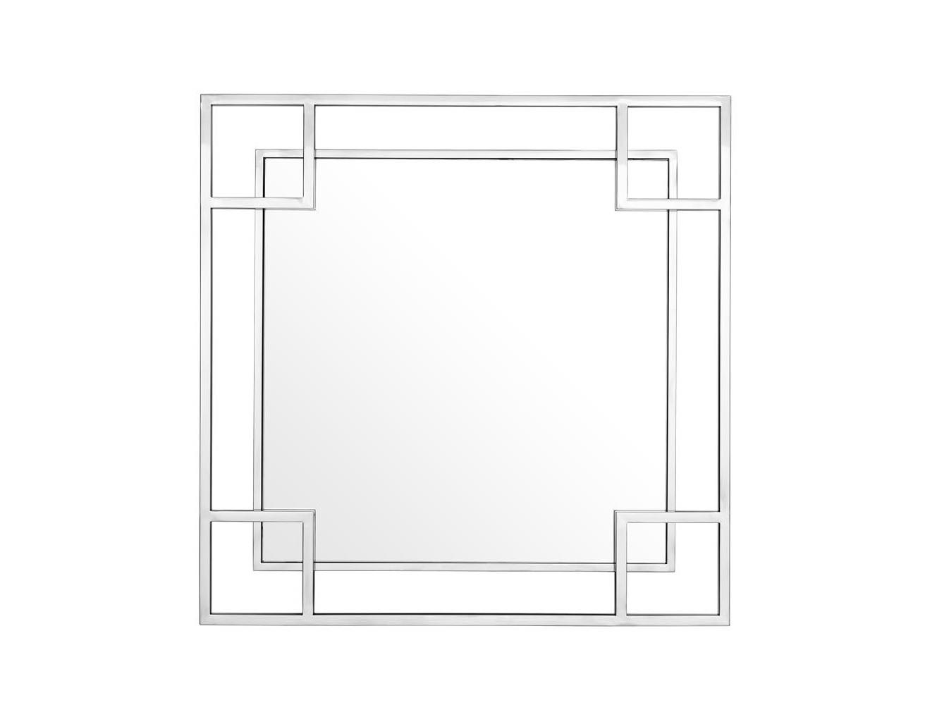 Зеркало MorrisНастенные зеркала<br><br><br>Material: Металл<br>Width см: 90<br>Height см: 90