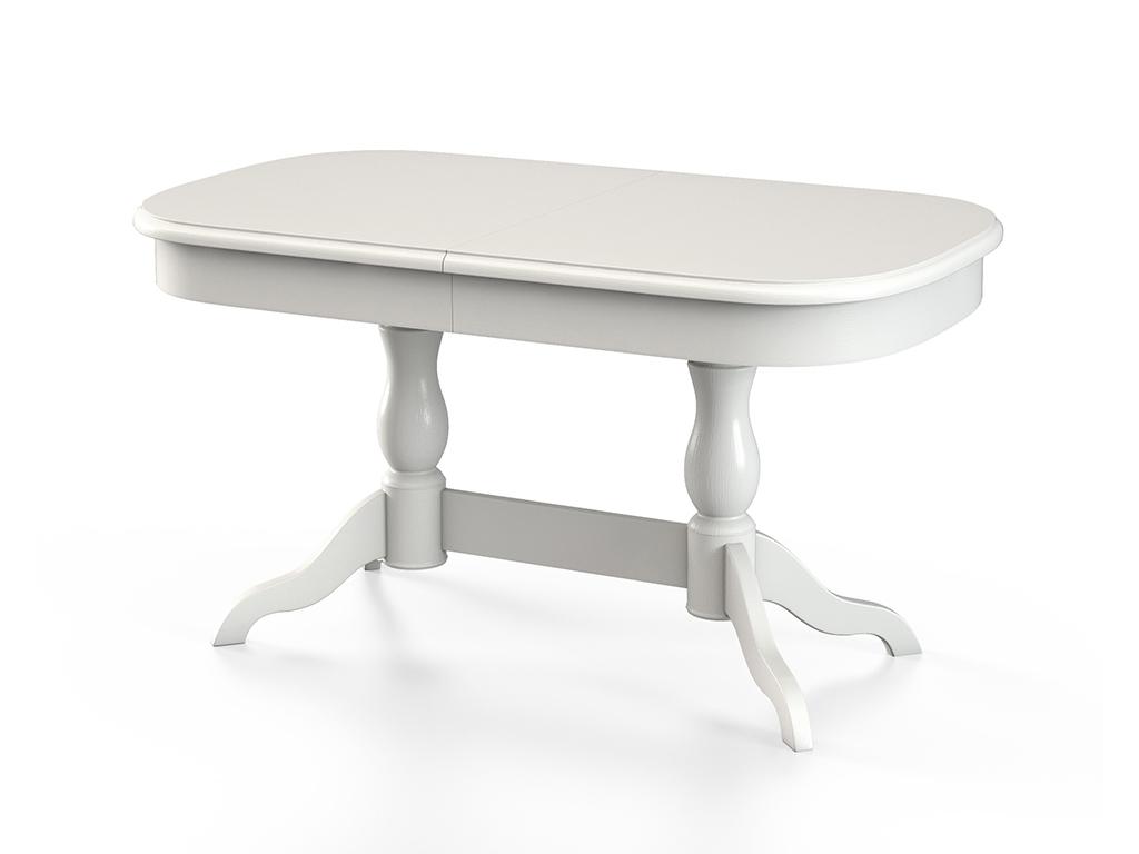 Стол обеденный СДОбеденные столы<br>Стол для гостиной &amp;quot;СД114&amp;quot; эмаль слоновая кость шпон. Ножки стола выполнены из массива бука, столешница - шпон + МДФ 22 мм. Механизм раскладки: синхронный. Требует сборки, фурнитура в комплекте. Стол раскладной, размер столешницы в разложенном виде: 170х80 см.<br><br>Material: Дерево<br>Ширина см: 140.0<br>Высота см: 75.0<br>Глубина см: 80.0