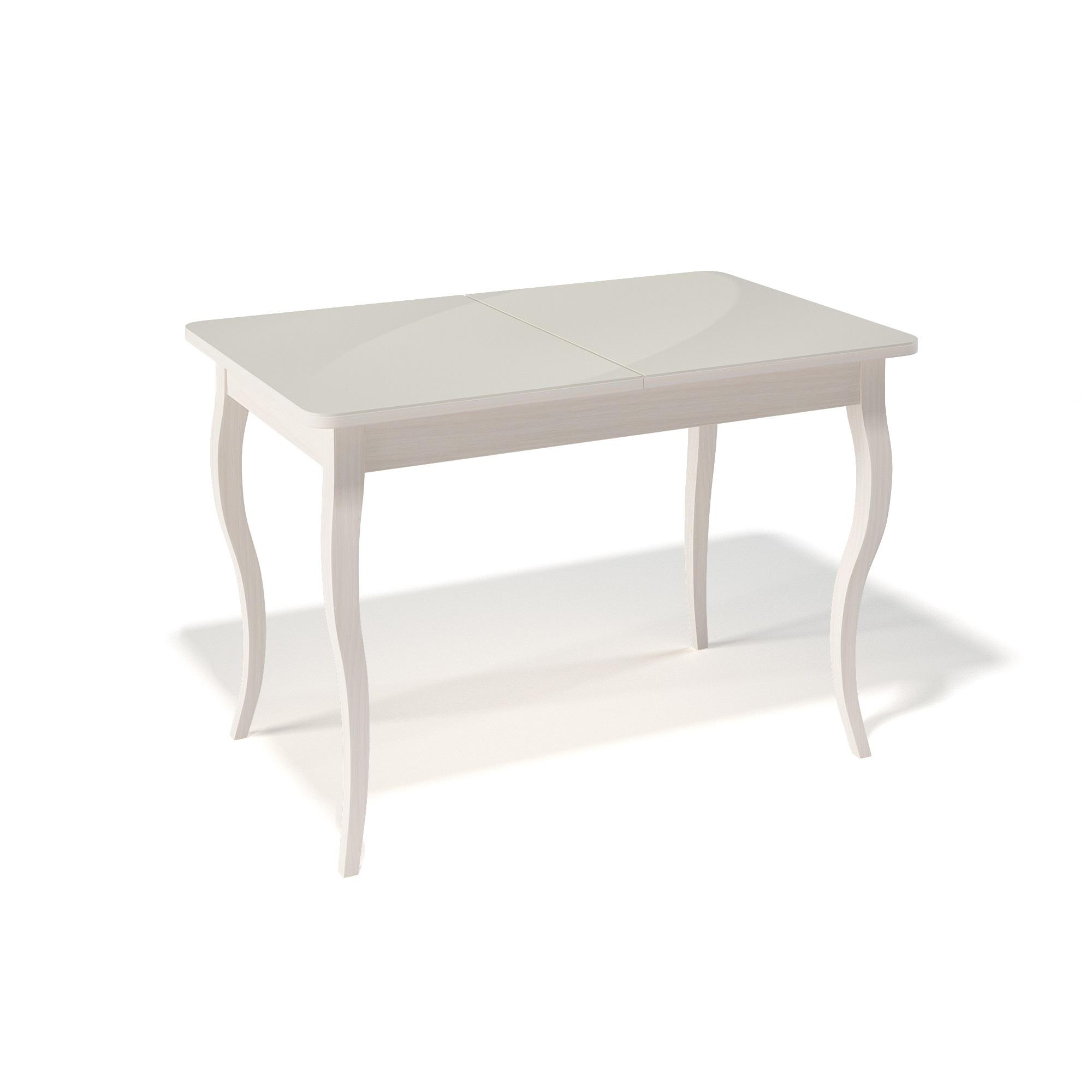 Стол обеденный KennerОбеденные столы<br>Ножки стола выполнены из массива бука, столешница - ДСП+стекло 4мм.&amp;amp;nbsp;&amp;lt;div&amp;gt;Механизм раскладки: синхронный, легкого скольжения.&amp;amp;nbsp;&amp;lt;/div&amp;gt;&amp;lt;div&amp;gt;На ножках установлены регулировочные винты.&amp;lt;/div&amp;gt;&amp;lt;div&amp;gt;Фурнитура в комплекте.&amp;amp;nbsp;&amp;lt;/div&amp;gt;&amp;lt;div&amp;gt;Стол раскладной,вставка &amp;quot;бабочка&amp;quot; со стеклом.&amp;amp;nbsp;&amp;lt;/div&amp;gt;&amp;lt;div&amp;gt;Размер столешницы в разложенном виде: 150х75 см. &amp;lt;/div&amp;gt;<br><br>Material: Дерево<br>Ширина см: 110<br>Высота см: 75<br>Глубина см: 70