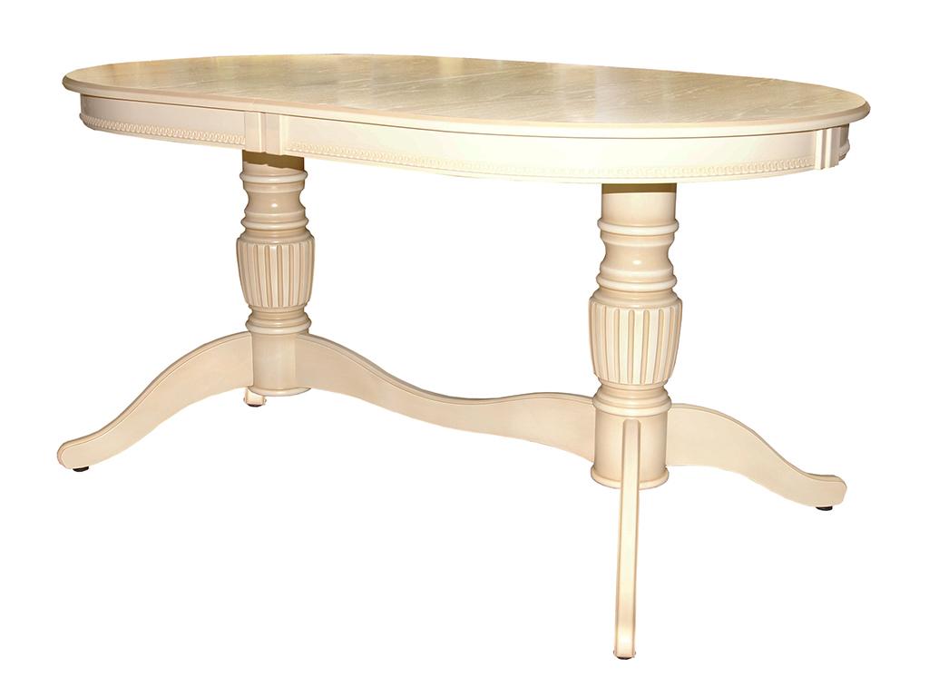 Стол АльтОбеденные столы<br>Стол для гостиной &amp;quot;Альт 11-12 (27/7)&amp;quot;. Ножки стола выполнены из массива березы, столешница - шпон ясеня. Покрытие: лак итальянского производства. Механизм раскладки: раздвижной.Требует сборки, фурнитура в комплекте. Стол раскладной. В разложенном виде размер столешницы:190х90 см.<br><br>Material: Дерево<br>Ширина см: 150.0<br>Высота см: 90.0<br>Глубина см: 76.0