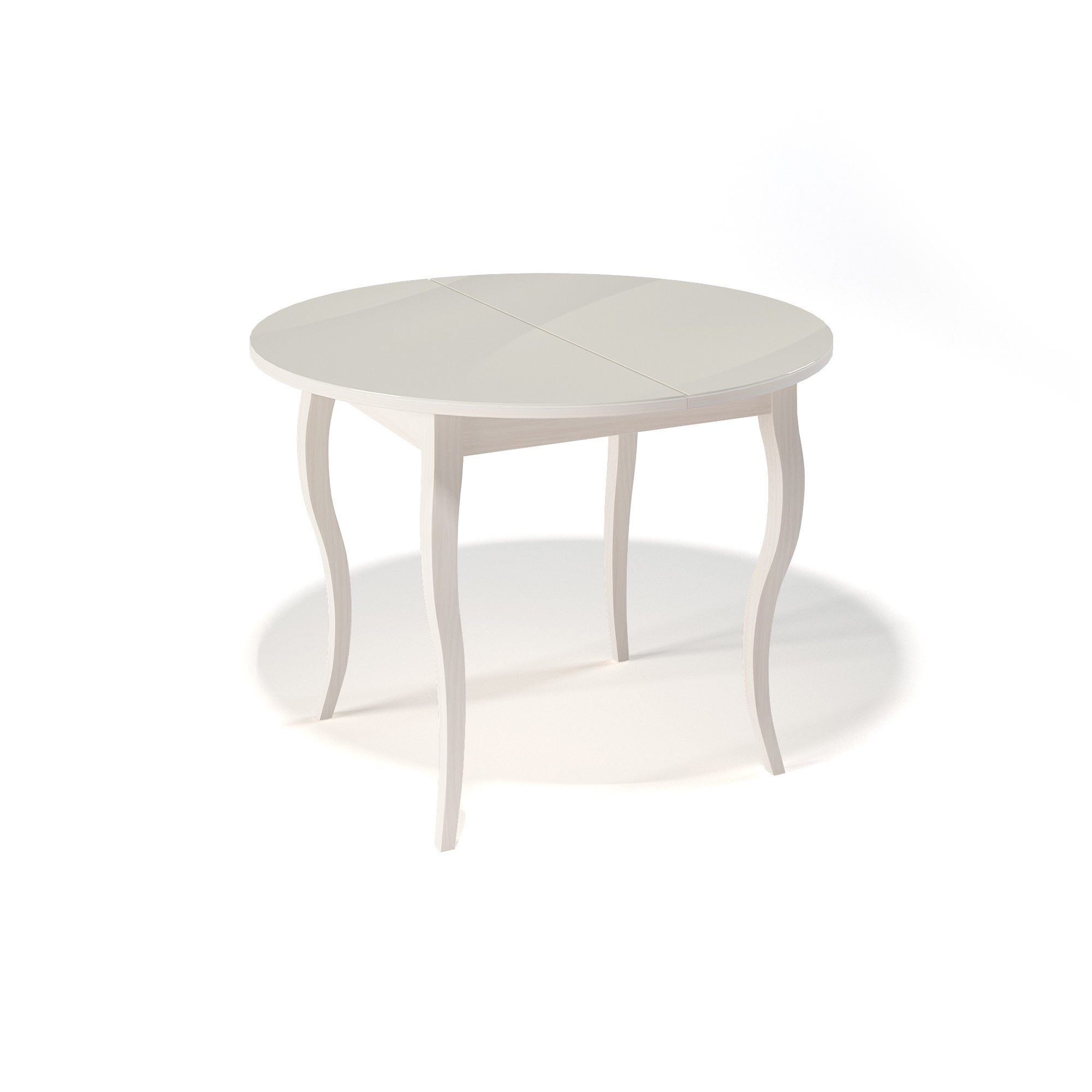 Стол обеденный KennerОбеденные столы<br>Ножки стола выполнены из массива бука, столешница - ДСП+стекло 4мм.&amp;amp;nbsp;&amp;lt;div&amp;gt;Механизм раскладки: синхронный, легкого скольжения.&amp;amp;nbsp;&amp;lt;/div&amp;gt;&amp;lt;div&amp;gt;На ножках установлены регулировочные винты.&amp;amp;nbsp;&amp;lt;/div&amp;gt;&amp;lt;div&amp;gt;Фурнитура в комплекте.&amp;amp;nbsp;&amp;lt;/div&amp;gt;&amp;lt;div&amp;gt;Стол раскладной,вставка &amp;quot;бабочка&amp;quot; со стеклом.&amp;amp;nbsp;&amp;lt;/div&amp;gt;&amp;lt;div&amp;gt;Размер столешницы в разложенном виде: 130х100 см. &amp;lt;/div&amp;gt;<br><br>Material: Дерево<br>Width см: None<br>Depth см: None<br>Height см: 75<br>Diameter см: 100