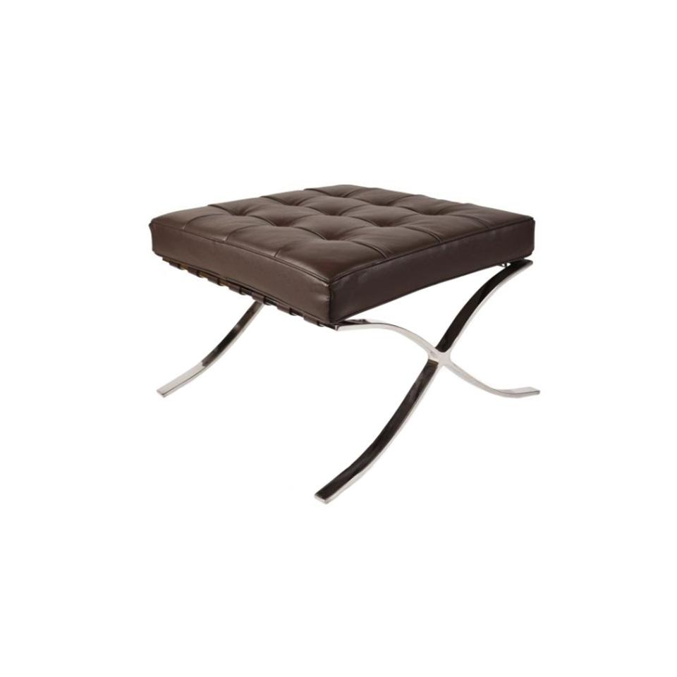 Пуф БарселонаКожаные пуфы<br>ROOMERS – это особенная коллекция, воплощение всего самого лучшего, модного и новаторского в мире дизайнерской мебели, предметов декора и стильных аксессуаров.<br>Интерьерные решения от ROOMERS – всегда актуальны, более того, они - на острие моды. Коллекции ROOMERS тщательно отбираются и обновляются дважды в год специально для вас.<br><br>Material: Кожа<br>Width см: 61<br>Depth см: 54<br>Height см: 41