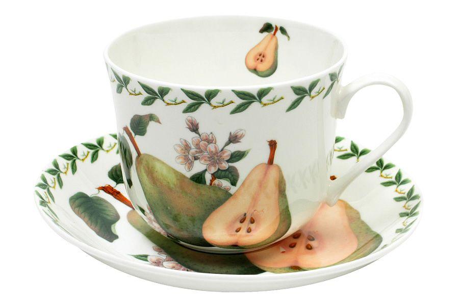 Чашка с блюдцем ГрушаЧайные пары, чашки и кружки<br><br><br>Material: Фарфор