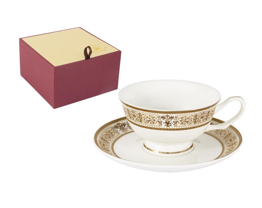 Чашка с блюдцем ШарлоттаЧайные пары, чашки и кружки<br><br><br>Material: Фарфор