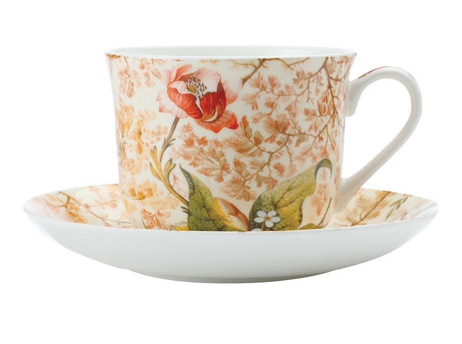 Чашка с блюдцем КонсерваторияЧайные пары, чашки и кружки<br><br><br>Material: Фарфор