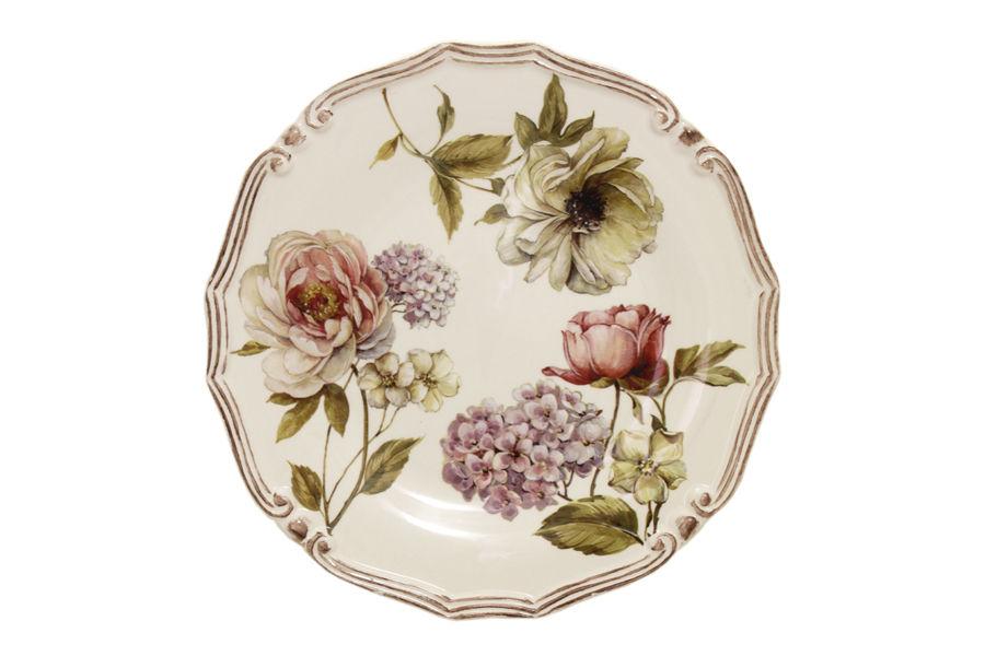Блюдо Сады ФлоренцииДекоративные блюда<br><br><br>Material: Керамика<br>Высота см: 4