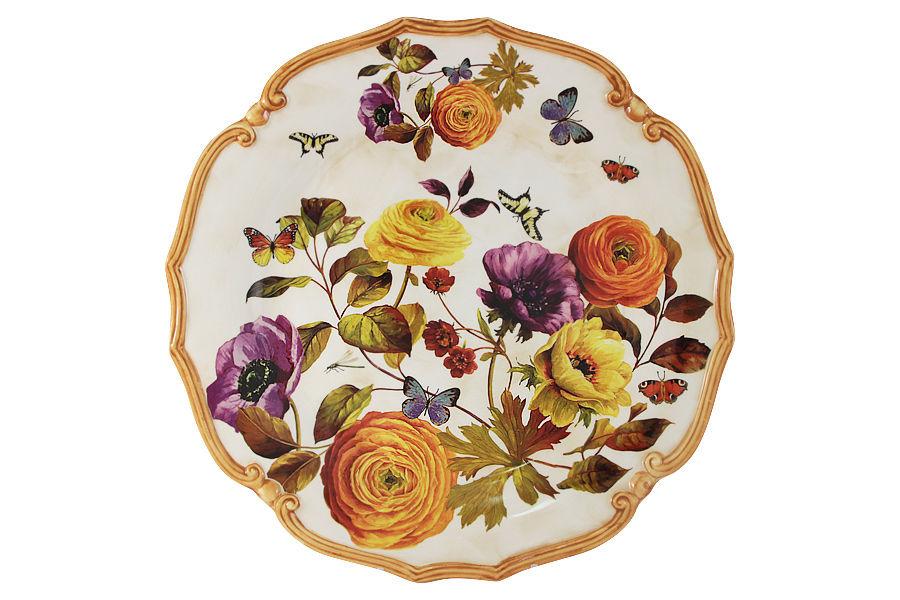 Блюдо ЭлегансДекоративные блюда<br><br><br>Material: Керамика<br>Diameter см: 37