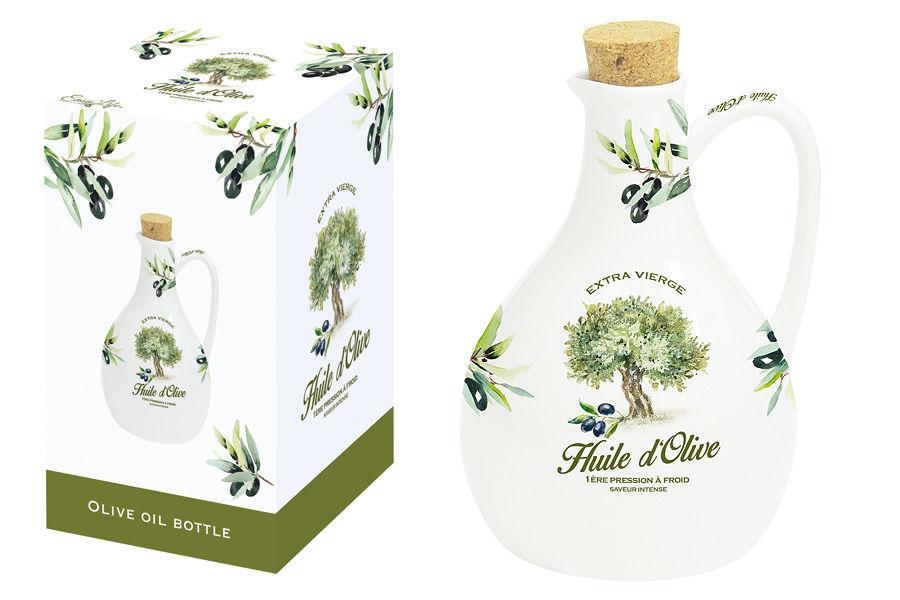 Бутылка для масла ПровансБутылки<br>Объем: 0,5л.<br><br>Material: Фарфор<br>Высота см: 16