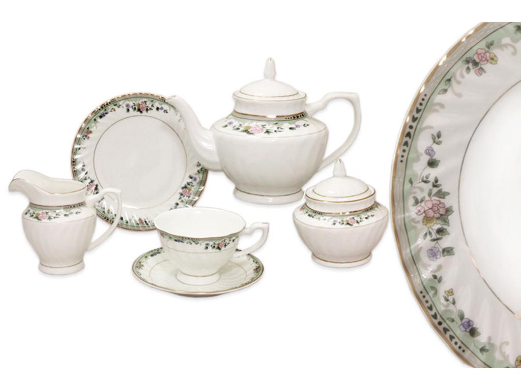 """Чайный сервиз 21 предмет на 6 персон """"Джулия"""""""