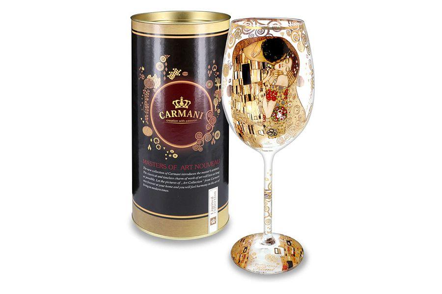 Бокал для вина ПоцелуйБокалы<br>Объем: 0,45л.<br><br>Material: Стекло<br>Высота см: 24