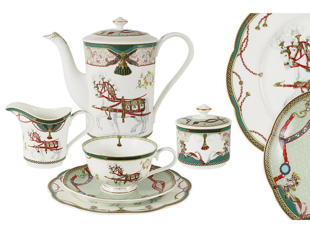 Anna Lafarg Emily Чайный сервиз 21 предмет на 6 персон Эдинбург emily чайный сервиз 21 предмет на 6 персон венеция