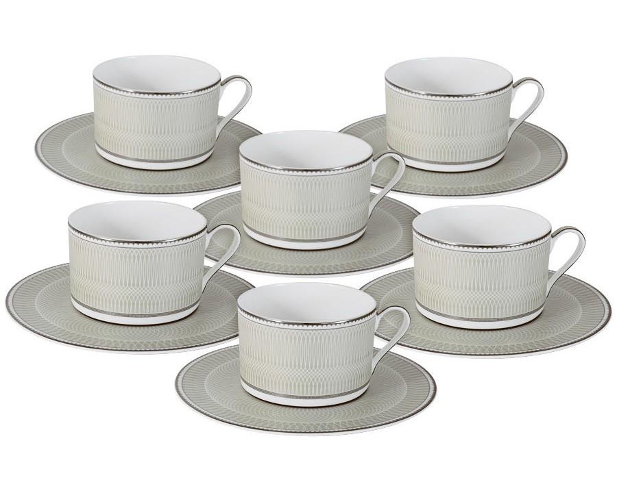 Чайный набор Маренго (6шт.)Чайные пары, чашки и кружки<br>Объем: 0,25л.<br><br>Material: Фарфор