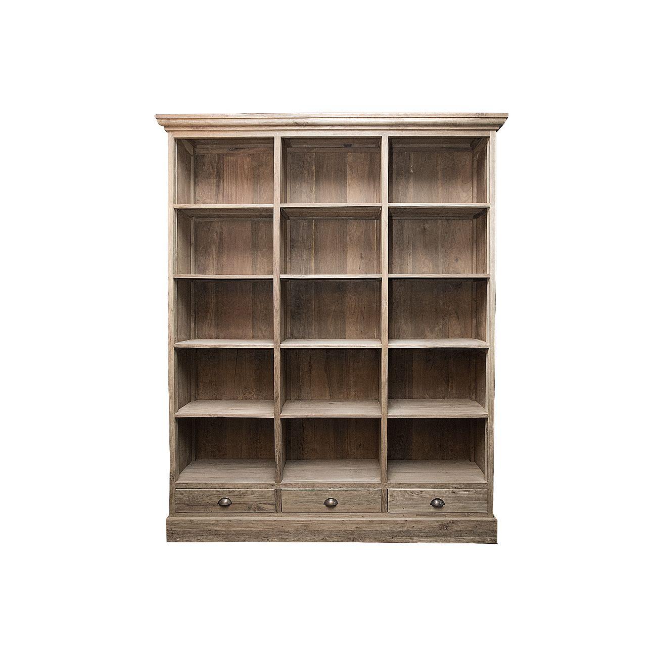 Шкаф СантоКнижные шкафы и библиотеки<br>ROOMERS – это особенная коллекция, воплощение всего самого лучшего, модного и новаторского в мире дизайнерской мебели, предметов декора и стильных аксессуаров. Интерьерные решения от ROOMERS – всегда актуальны, более того, они - на острие моды. Коллекции ROOMERS тщательно отбираются и обновляются дважды в год специально для вас.<br><br>Material: Тик<br>Width см: 170<br>Depth см: 40<br>Height см: 210
