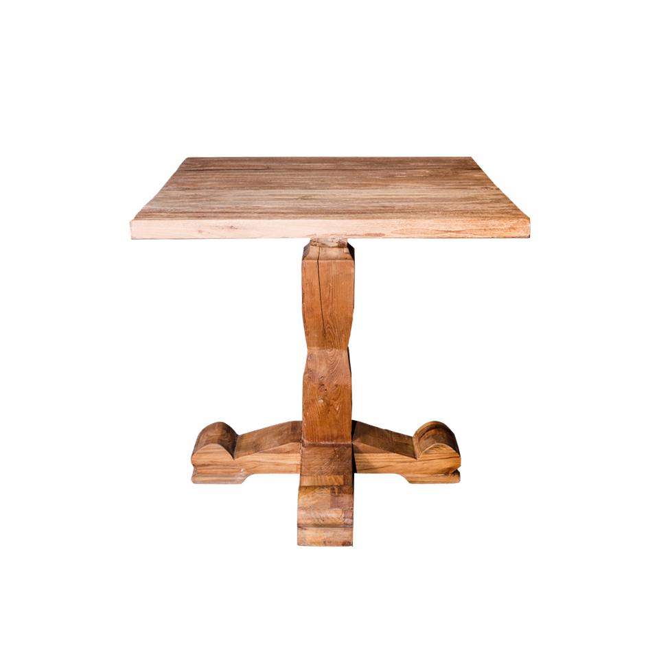 Стол ХантерОбеденные столы<br>ROOMERS – это особенная коллекция, воплощение всего самого лучшего, модного и новаторского в мире дизайнерской мебели, предметов декора и стильных аксессуаров. Интерьерные решения от ROOMERS – всегда актуальны, более того, они - на острие моды. Коллекции ROOMERS тщательно отбираются и обновляются дважды в год специально для вас.<br><br>Material: Тик<br>Width см: 80<br>Depth см: 80<br>Height см: 78<br>Diameter см: None