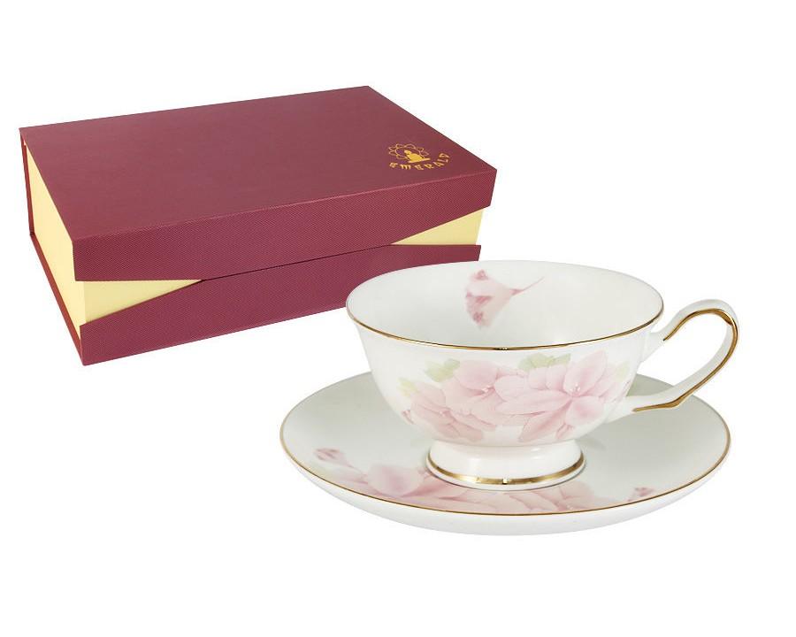 Набор чашек Розовые цветы (6шт.)Чайные пары, чашки и кружки<br><br><br>Material: Фарфор