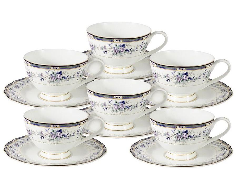 Набор чашек Маркиза (6шт.)Чайные пары, чашки и кружки<br><br><br>Material: Фарфор