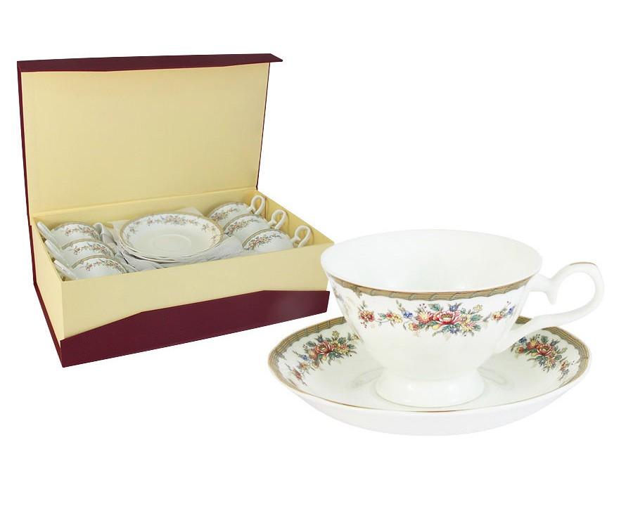 Набор чашек Изабелла (6шт.)Чайные пары, чашки и кружки<br><br><br>Material: Фарфор