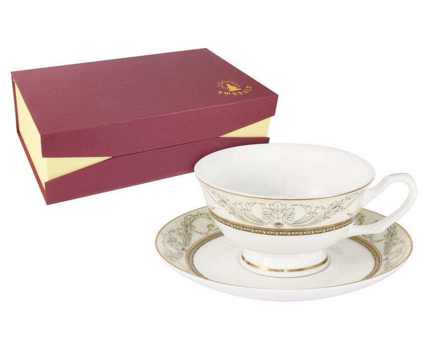 Набор чашек Романтика (6шт.)Чайные пары, чашки и кружки<br><br><br>Material: Фарфор