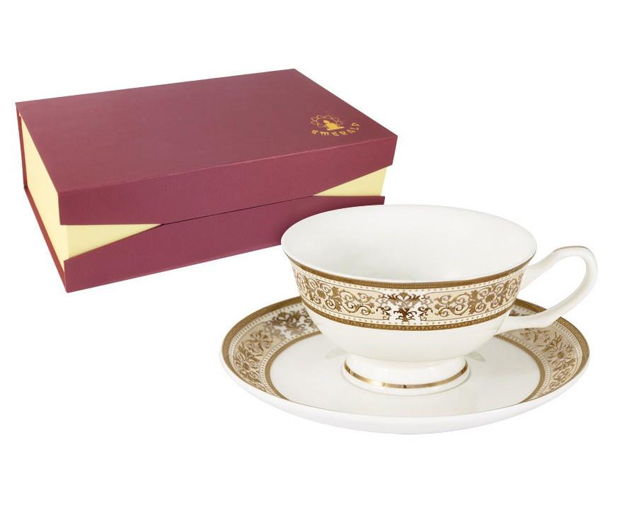 Набор чашек Шарлотта (6шт.)Чайные пары, чашки и кружки<br><br><br>Material: Фарфор