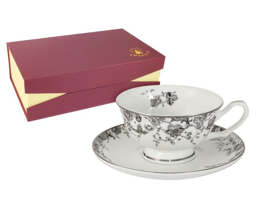 Набор чашек Эстель (6шт.)Чайные пары, чашки и кружки<br><br><br>Material: Фарфор