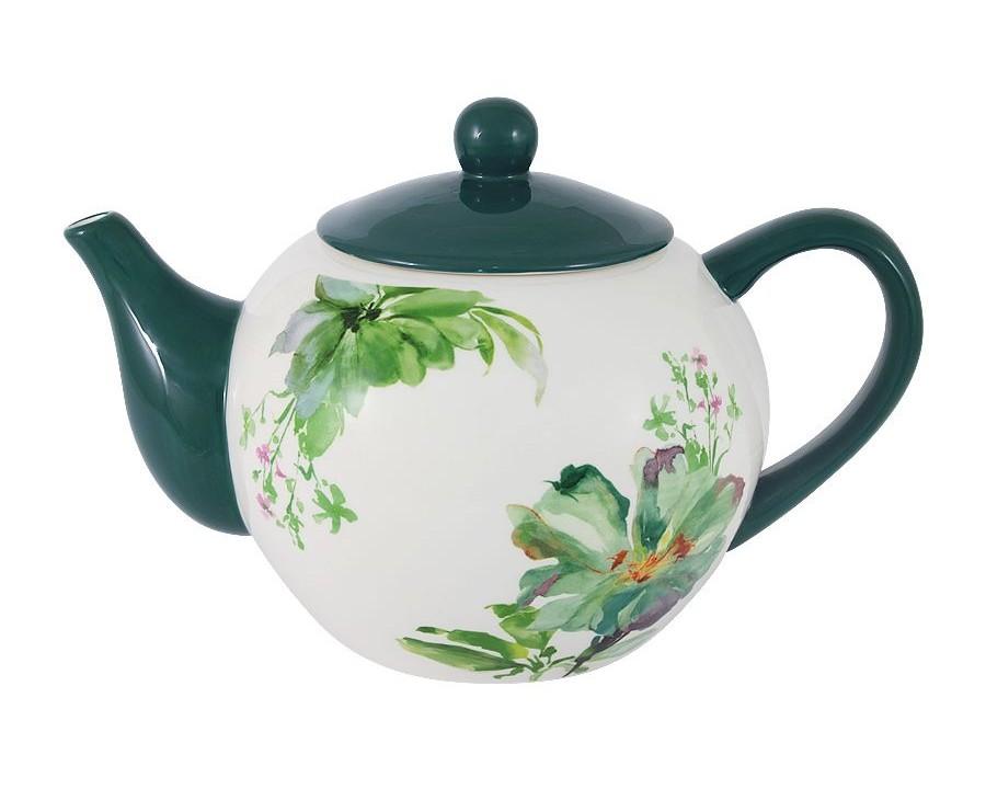 Чайник ФлораЧайники<br>Объем: 1л.<br><br>Material: Керамика