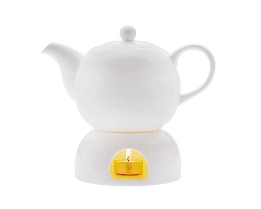 Чайник на подставке ЛилияЧайники<br>Объем: 0,1л.<br><br>Material: Фарфор