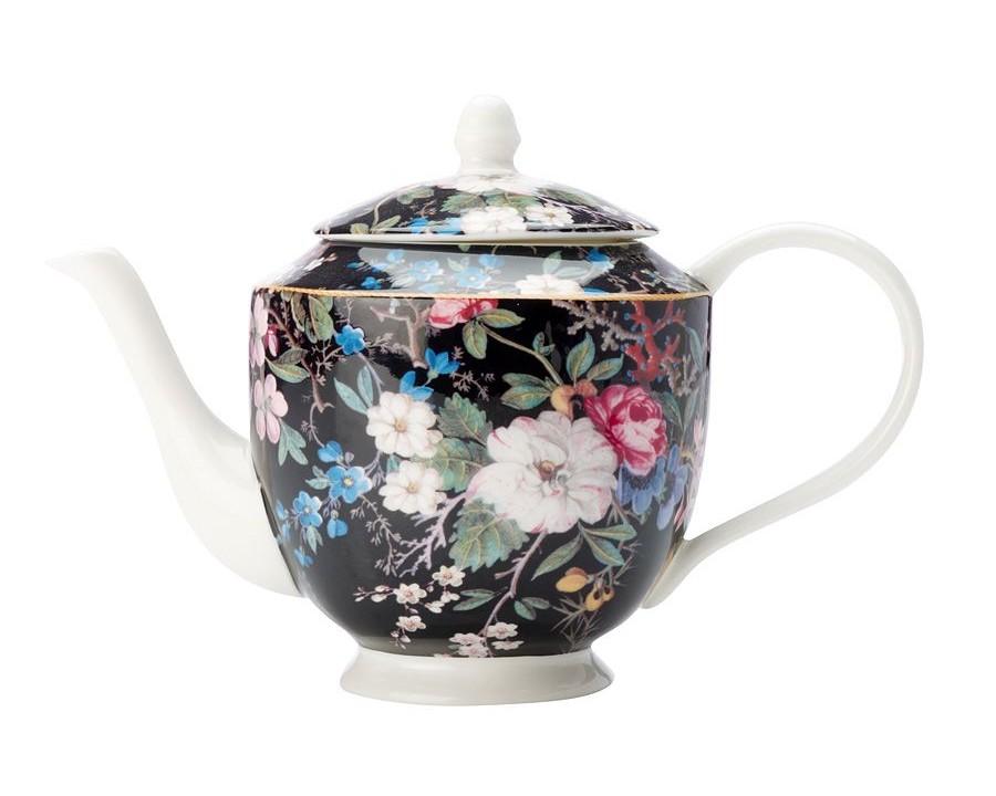 """Чайник """"Полночные цветы"""""""