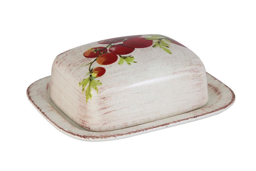Масленка Овощное ассортиЕмкости для хранения<br><br><br>Material: Керамика