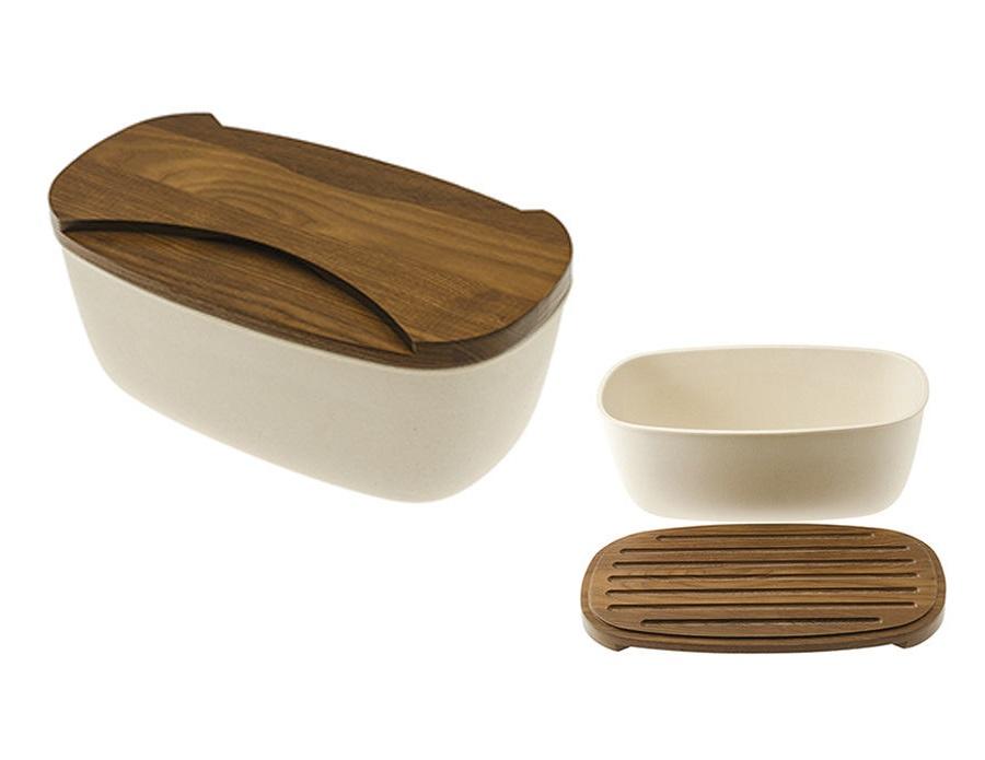 Хлебница с доской LegnoartЕмкости для хранения<br><br><br>Material: Дерево<br>Width см: 35<br>Depth см: 20<br>Height см: 15