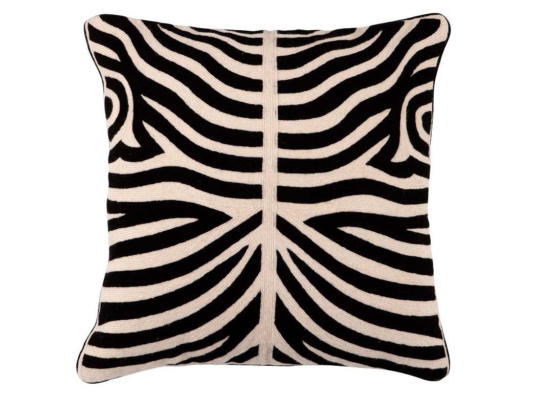 Подушка ZebraКвадратные подушки и наволочки<br><br><br>Material: Текстиль<br>Ширина см: 50<br>Высота см: 50
