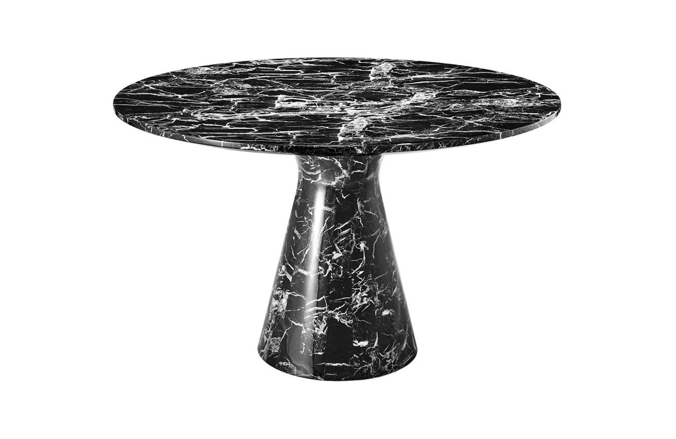 Стол TurnerОбеденные столы<br><br><br>Material: Мрамор<br>Ширина см: 119<br>Высота см: 75.0<br>Глубина см: 119
