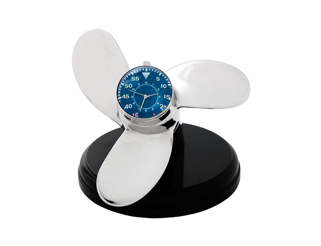 Часы Propellor HerculesНастольные часы<br><br><br>Material: Металл<br>Ширина см: 18<br>Высота см: 19<br>Глубина см: 21