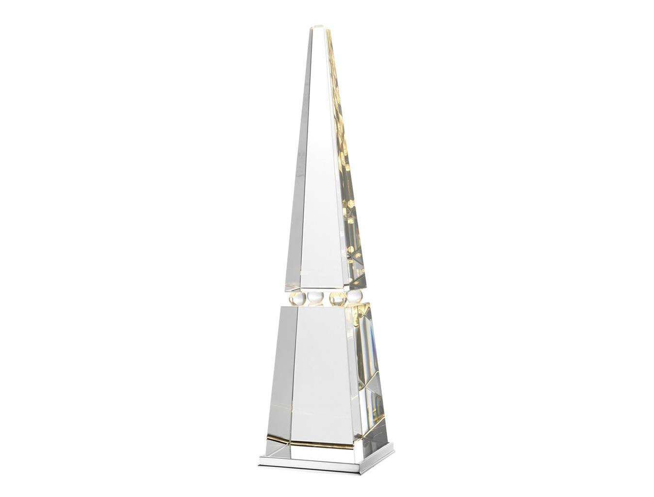 Настольная лампа Bari crystalДекоративные лампы<br>&amp;lt;div&amp;gt;Вид цоколя: LED&amp;lt;br&amp;gt;&amp;lt;/div&amp;gt;&amp;lt;div&amp;gt;&amp;lt;div&amp;gt;Мощность: 0,75W&amp;lt;/div&amp;gt;&amp;lt;div&amp;gt;Количество ламп: 3 (нет в комплекте)&amp;lt;/div&amp;gt;&amp;lt;/div&amp;gt;<br><br>Material: Стекло<br>Ширина см: 14<br>Высота см: 60<br>Глубина см: 14