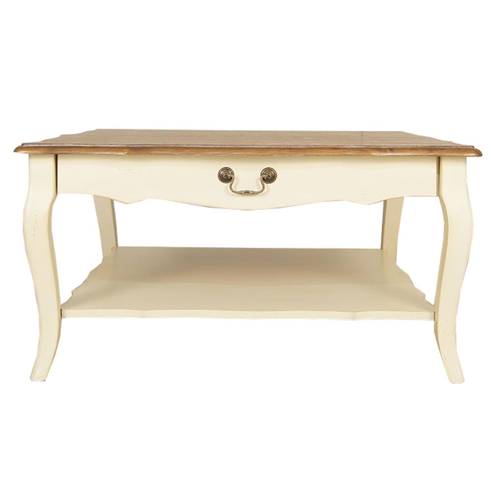 Стол журнальный LeontinaЖурнальные столики<br>&amp;lt;div&amp;gt;Изящный и лаконичный силуэт стола – идеальный вариант для романтичного стиля прованс. Leontina словно провозглашает красоту в простоте, чего так не хватает современным интерьерам. Игриво изогнутые линии, старинная отделка – все это передает неповторимую атмосферу самого живописного уголка Франции. Сочетание светлых и темных тонов одной цветовой гаммы наполнит пространство гармонией и уютом.&amp;lt;br&amp;gt;&amp;lt;/div&amp;gt;&amp;lt;div&amp;gt;&amp;lt;span style=&amp;quot;line-height: 1.78571;&amp;quot;&amp;gt;&amp;lt;br&amp;gt;&amp;lt;/span&amp;gt;&amp;lt;/div&amp;gt;&amp;lt;div&amp;gt;&amp;lt;span style=&amp;quot;line-height: 1.78571;&amp;quot;&amp;gt;Материал: береза, ясень&amp;lt;/span&amp;gt;&amp;lt;/div&amp;gt;&amp;lt;div&amp;gt;&amp;lt;span style=&amp;quot;line-height: 1.78571;&amp;quot;&amp;gt;Вес: 31 кг&amp;lt;/span&amp;gt;&amp;lt;br&amp;gt;&amp;lt;/div&amp;gt;<br><br>Material: Береза<br>Length см: None<br>Width см: 90<br>Depth см: 90<br>Height см: 46<br>Diameter см: None