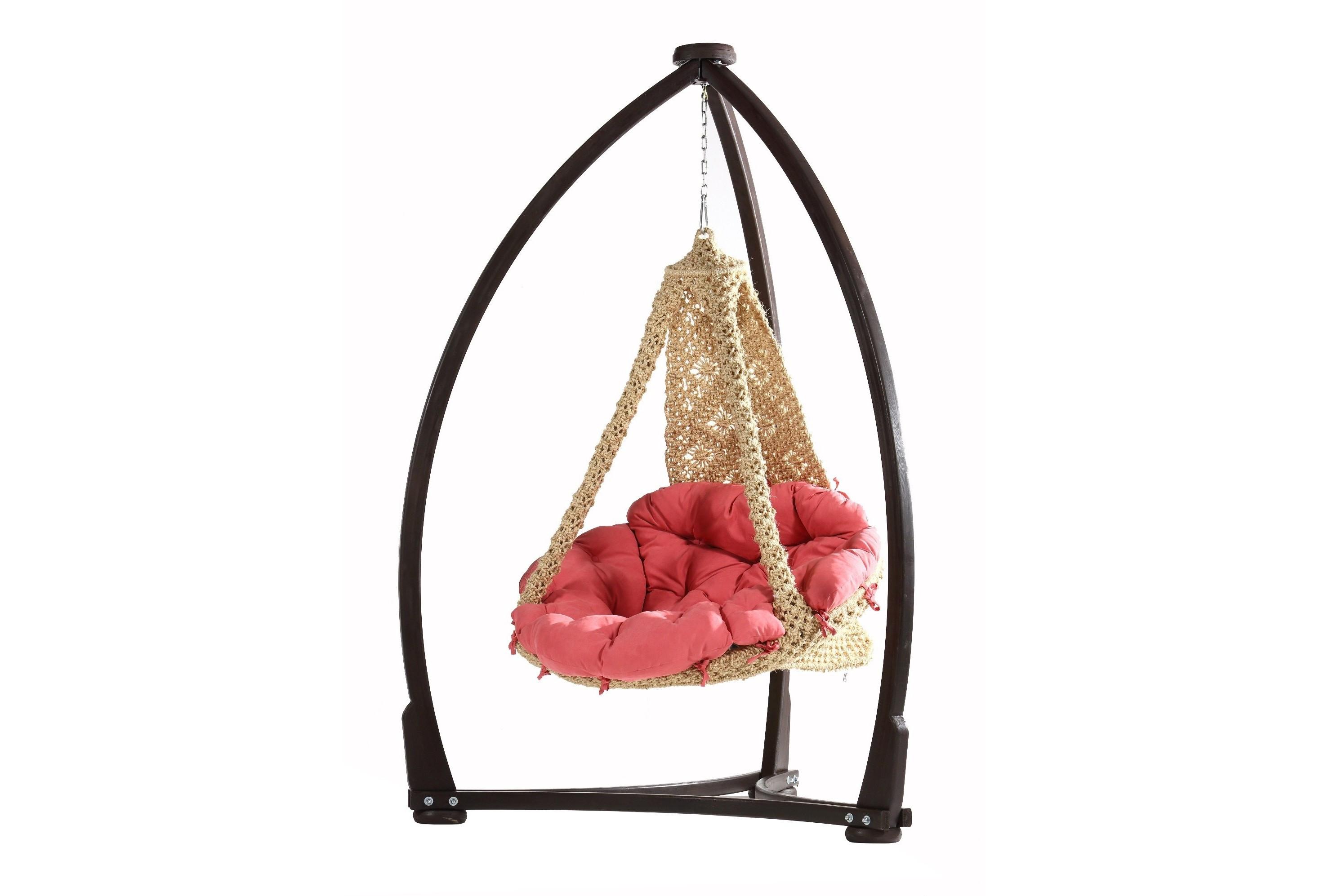 Кресло-гамакПодвесные кресла<br>Подвесной гамак изготовлен вручную в технике «макраме» из сизали (натуральное волокно из листьев агавы) на металлическом каркасе.&amp;amp;nbsp;&amp;lt;div&amp;gt;&amp;lt;br&amp;gt;&amp;lt;/div&amp;gt;&amp;lt;div&amp;gt;Матрац из терможаккардовой ткани с наполнителем из пух-шара идет в комплекте.&amp;amp;nbsp;&amp;lt;/div&amp;gt;&amp;lt;div&amp;gt;Поставляется без каркаса.&amp;lt;/div&amp;gt;<br><br>Material: Текстиль<br>Высота см: 180