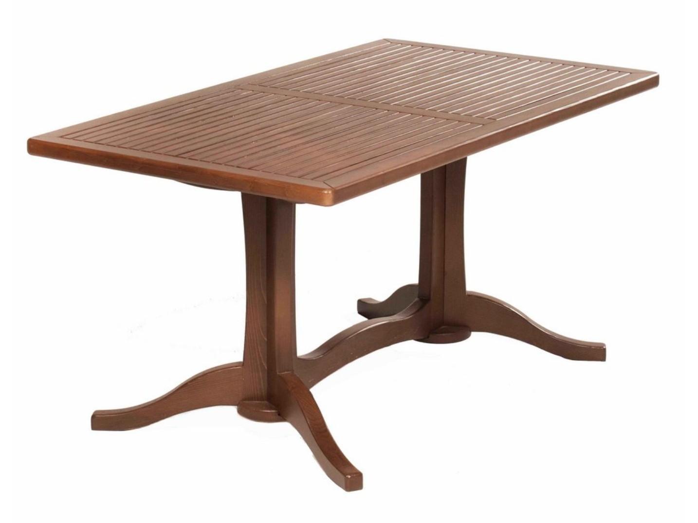 Стол ЖардинСтолы и столики для сада<br>Стол из натуральной древесины.<br><br>Material: Дерево<br>Ширина см: 150<br>Высота см: 75<br>Глубина см: 85