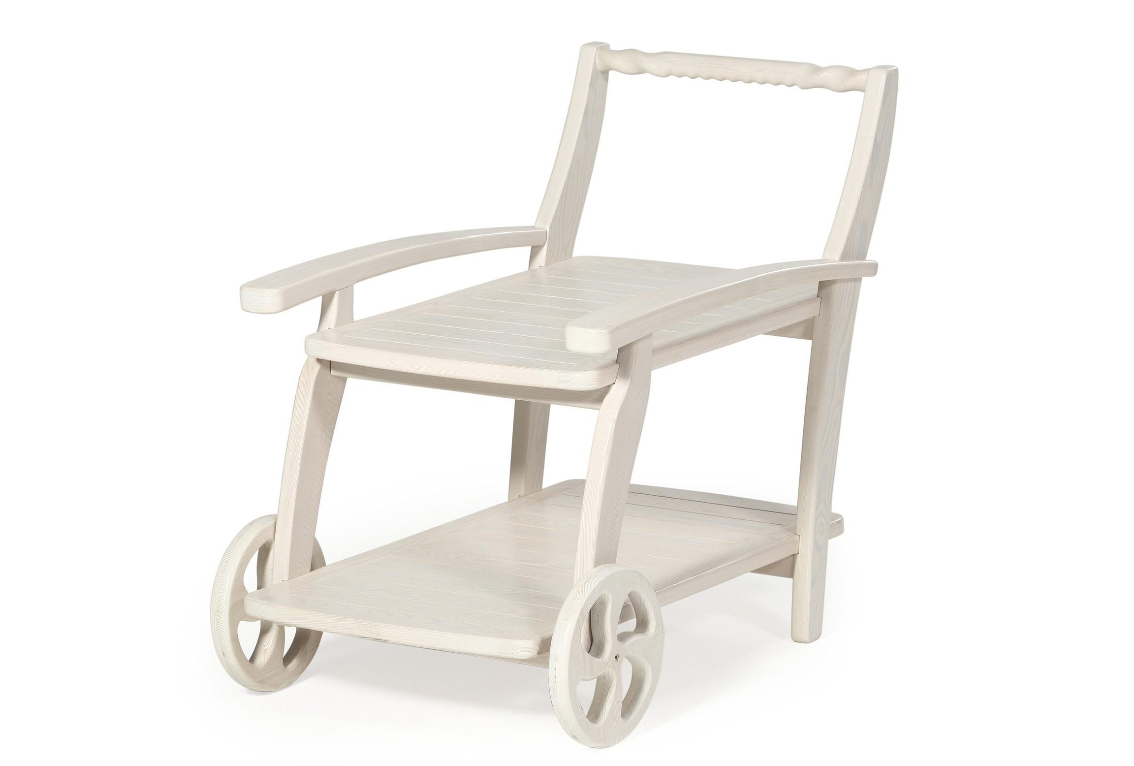 Стол сервировочный АристократСтолы и столики для сада<br>Изделие изготовлено из массива лиственницы.<br><br>Material: Дерево<br>Ширина см: 97<br>Высота см: 80<br>Глубина см: 61