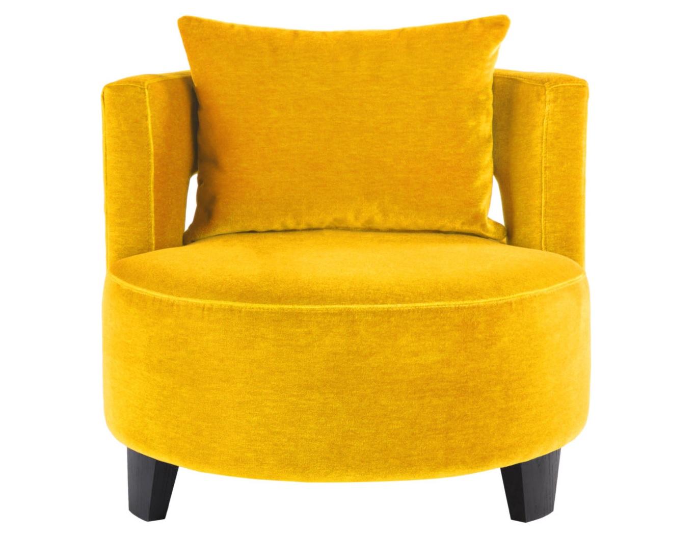 Кресло KorinИнтерьерные кресла<br><br><br>Material: Текстиль<br>Ширина см: 80<br>Высота см: 66<br>Глубина см: 80