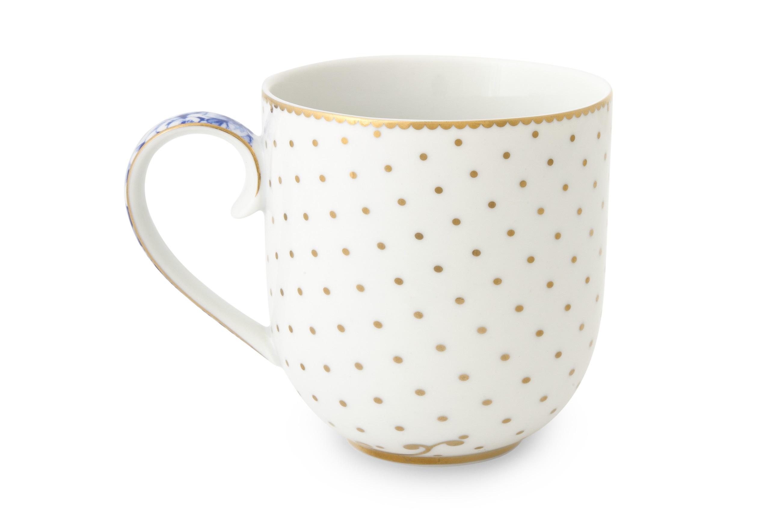 Набор маленьких кружек Royal White (2шт)Чайные пары, чашки и кружки<br>Объём 260 мл. Не использовать в микроволновой печи. Не рекомендуется мыть в посудомоечной машине.<br><br>Material: Фарфор<br>Высота см: 8