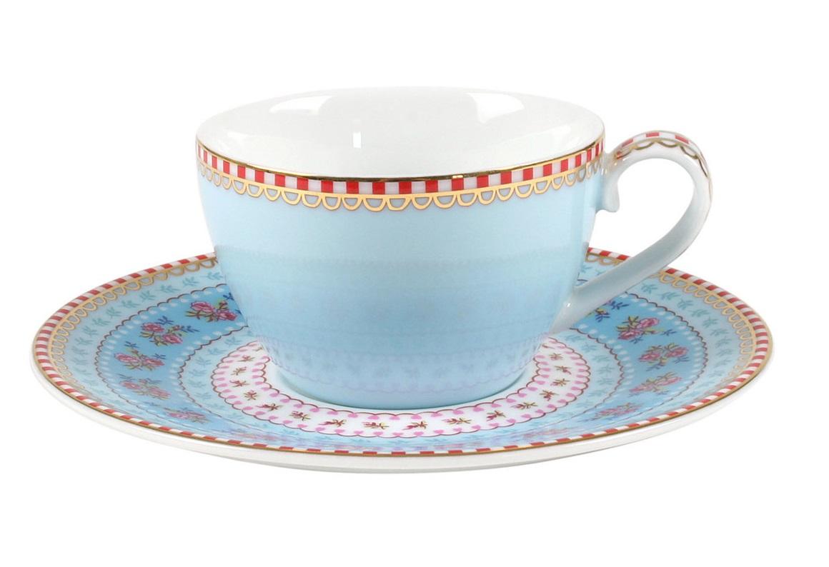 Набор маленьких чашек с блюдцами Floral (2шт)Чайные пары, чашки и кружки<br>Объём 80 мл. Не использовать в микроволновой печи. Не рекомендуется мыть в посудомоечной машине.<br><br>Material: Фарфор<br>Width см: None<br>Depth см: None<br>Height см: 5<br>Diameter см: 7