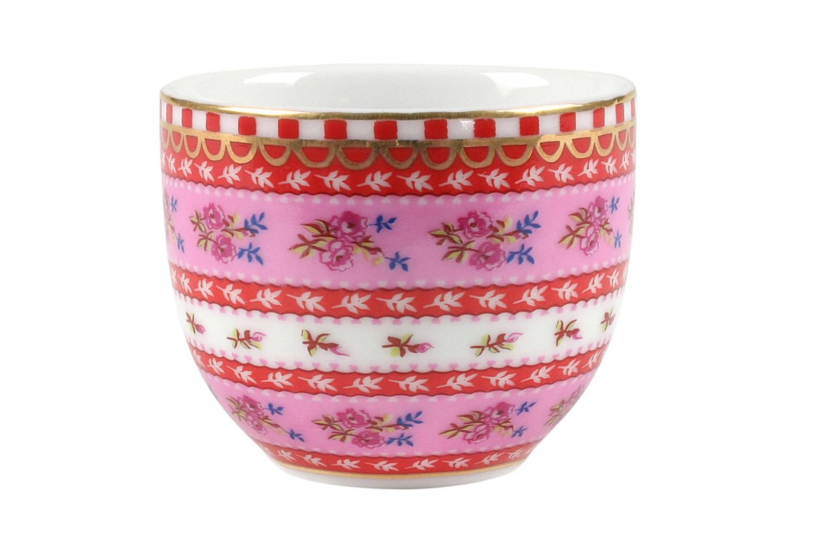 Набор подставок для яиц Floral (2шт)Подставки и доски<br>Коллекция посуды Floral появилась в 2008 г. и состоит из нескольких дизайнов, которые прекрасно сочетаются между собой и отлично дополняют друг друга. Особенность коллекции - в декорировании цветами, птицами и позолотой на всех предметах. Коллекция состоит из трёх цветовых групп - розовой, хаки и голубой, которые можно бесконечно комбинировать между собой. Коллекция также включает в себя кухонный текстиль и стекло.&amp;lt;div&amp;gt;&amp;lt;br&amp;gt;&amp;lt;/div&amp;gt;&amp;lt;div&amp;gt;&amp;lt;span style=&amp;quot;font-size: 14px;&amp;quot;&amp;gt;Не использовать в микроволновой печи. Не рекомендуется мыть в посудомоечной машине.&amp;amp;nbsp;&amp;lt;/span&amp;gt;&amp;lt;br&amp;gt;&amp;lt;/div&amp;gt;<br><br>Material: Фарфор<br>Width см: None<br>Depth см: None<br>Height см: 5<br>Diameter см: 5
