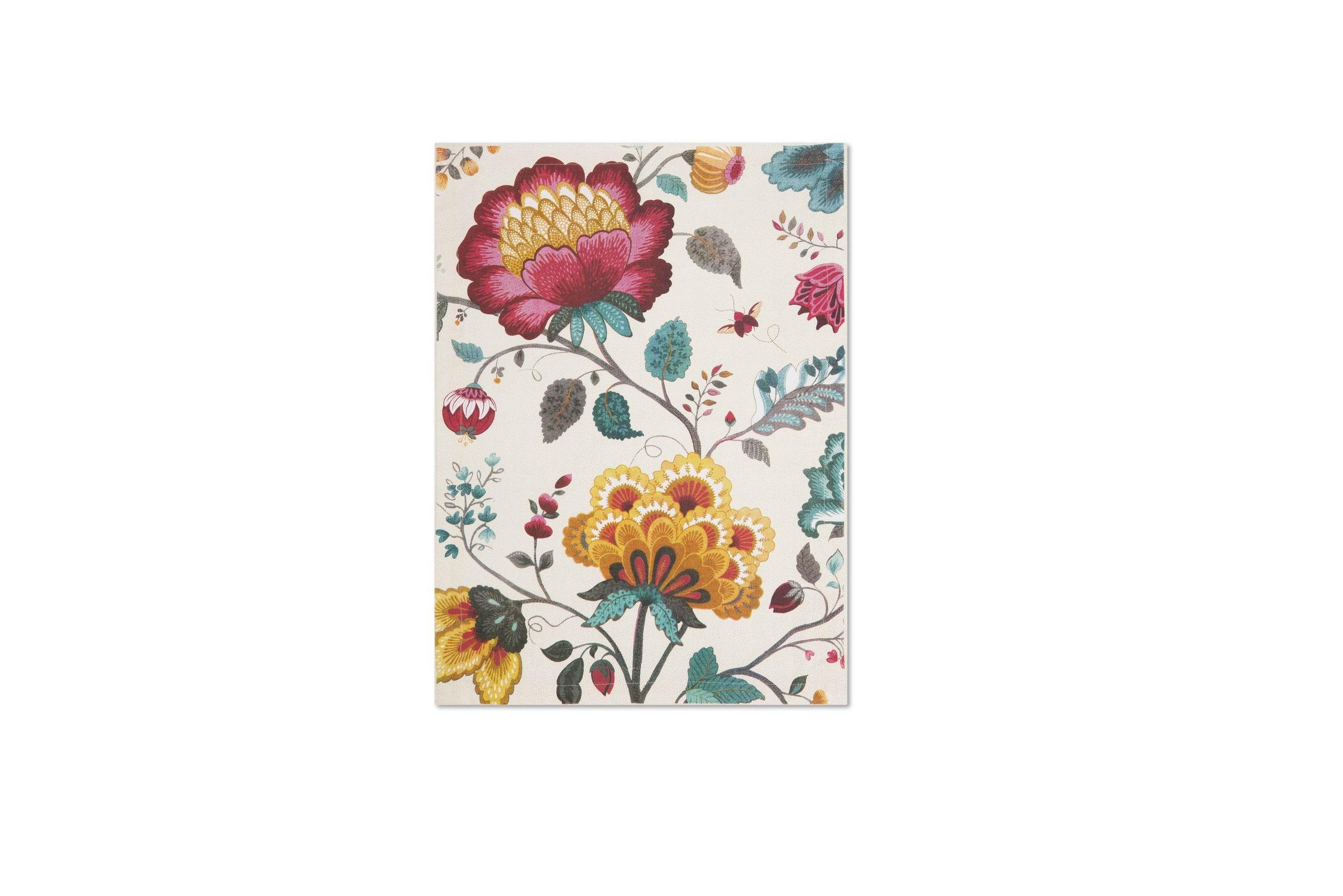 Набор полотенец Floral (2шт)Комплекты полотенец<br>Коллекция Floral появилась в 2008 г. и состоит из нескольких дизайнов, которые прекрасно сочетаются между собой и отлично дополняют друг друга. Особенность коллекции - в декорировании цветами, птицами и позолотой на всех предметах. Коллекция состоит из трёх цветовых групп - розовой, хаки и голубой, которые можно бесконечно комбинировать между собой. Коллекция также включает в себя кухонный текстиль и стекло.<br><br>Material: Хлопок<br>Ширина см: 70<br>Глубина см: 50